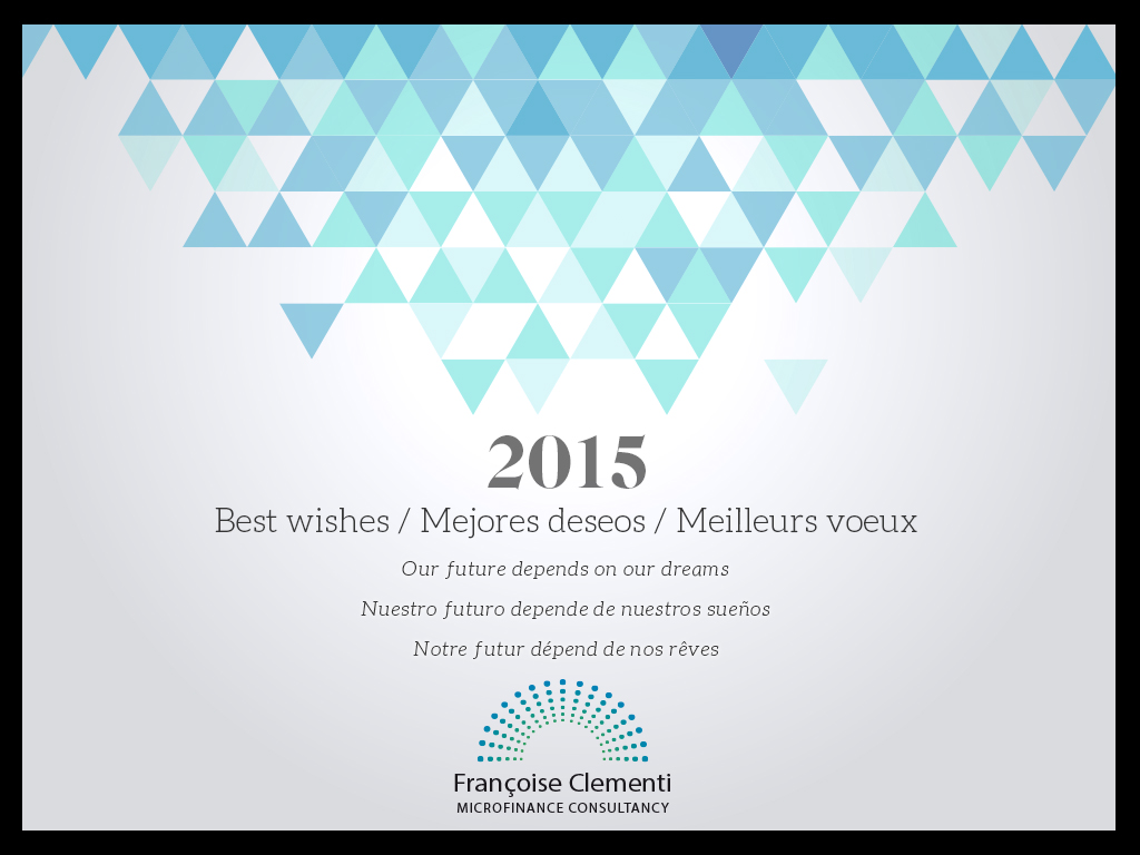 Happy New Year - Feliz Año - Bonne Année - 2015
