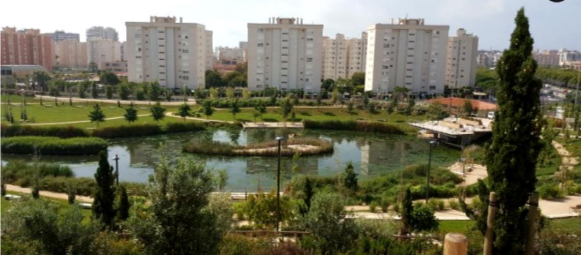 Así es el Parque de La Marjal de Alicante, capaz de recoger 45 millones de litros de aguas pluviales